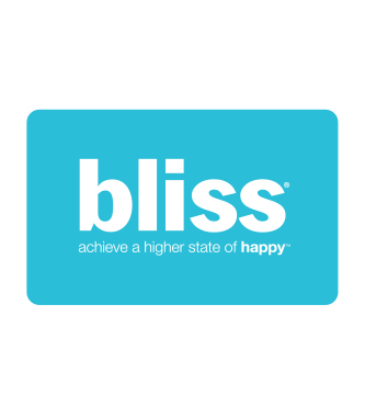 bliss gift cards