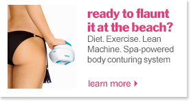 buy bliss lean machine spa-powered firming and contouring system