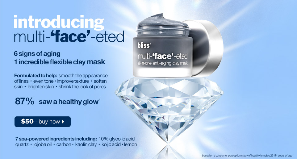 shop bliss multi-face-eted mask