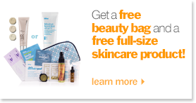 get your free beauty bag