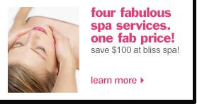 shop spa services
