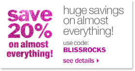 save 20% on almost everything!