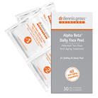dr. dennis gross alpha beta daily face peel 30 packettes