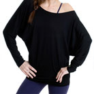aziam flow tunic (black)