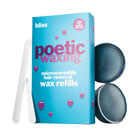 bliss poetic waxing microwaveable wax refill kit