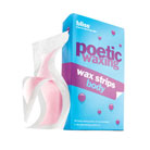 bliss poetic waxing wax strips for body