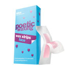 bliss poetic waxing wax strips for face