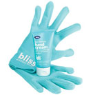 bliss glamour gloves+hand cream set