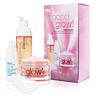 bliss good to glow triple oxygen radiant skin set
