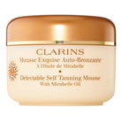 clarins delectable self tanning mousse spf 15
