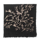 leigh &amp; luca bamboo foil scarf