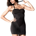 resultwear grace strapless slip (black)