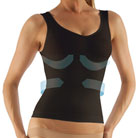 farmacell® cellulite smoothing and shaping tank (black)
