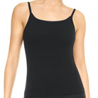 spanx active ribbed cami top (black)