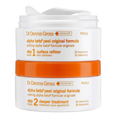 dr. dennis gross alpha beta daily face peel 2 part system