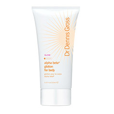 dr. dennis gross skincare alpha beta glotion for body