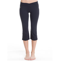 aziam chakra capri (black)