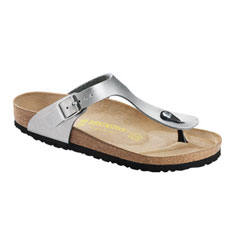 birkenstock gizeh sandal (silver)