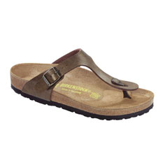 birkenstock gizeh sandal (gold brown)