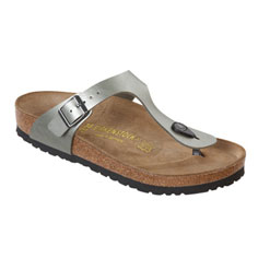 birkenstock gizeh sandal (titanium)