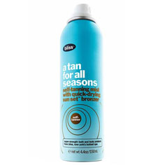 bliss tan for all seasons 150 ml