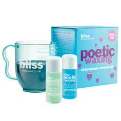 bliss poetic waxing microwaveable waxing kit