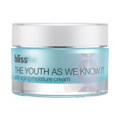 bliss the youth as we know it moisture cream