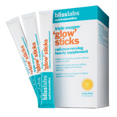 blisslabs™ nutricosmetics triple oxygen™ glow sticks