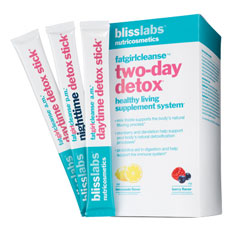 blisslabs nutricosmetics fatgirlcleanse two-day detox