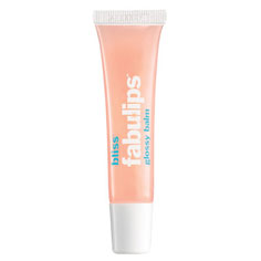 bliss fabulips glossy lip balm (peppermint)