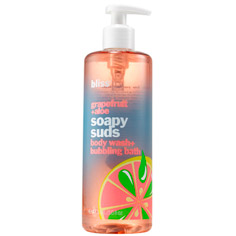 bliss grapefruit + aloe soapy suds