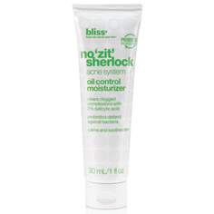 bliss no zit sherlock oil control moisturizer 30 ml