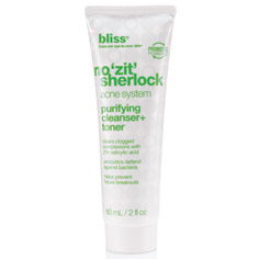 bliss no zit sherlock  purifying cleanser + toner 60 ml