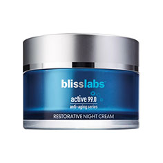 blisslabs™ active 99.0 anti-aging series restorative night cream