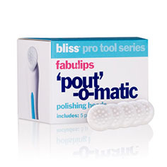 bliss fabulips 'pout'-o-matic polishing heads