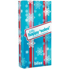 bliss jolly, happy 'soles' gift box