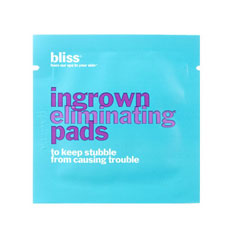 bliss ingrown eliminator pad packette