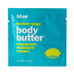 bliss lemon + sage body butter 7ml