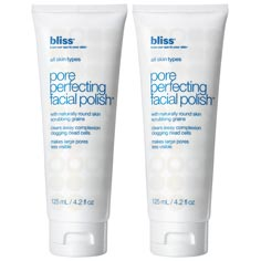 bliss pore perfecting facial polish set of 2