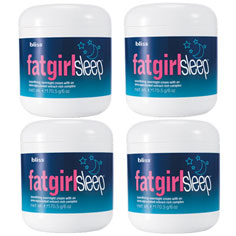 fatgirlsleep set of 4