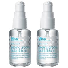 bliss peeling groovy facial serum set of 2