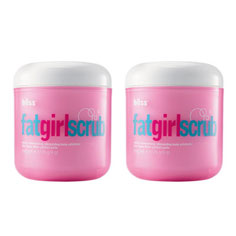 bliss fatgirlscrub set of 2