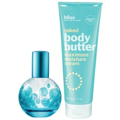 bliss slather and spritz set