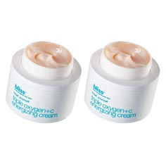 bliss triple oxygen energizing cream set of 2