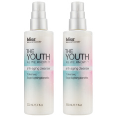 bliss the youth as we know it cleanser set of 2