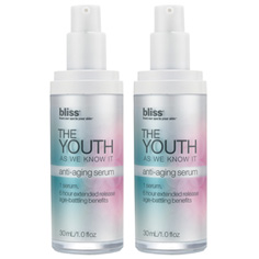 bliss the youth as we know it serum set of 2