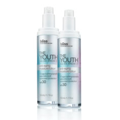 bliss the youth as we know it moisture lotion spf 30 set of 2