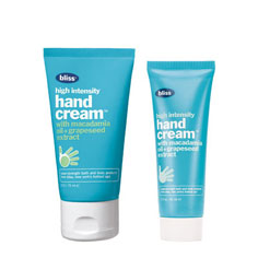 bliss high intensity hand cream mega+mini set