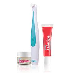 bliss 'pout'-o-matic + fabulips glossy lip balm (vanilla)