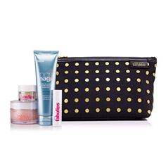 kate spade saturday + bliss baby it's cold outside winter skincare set
